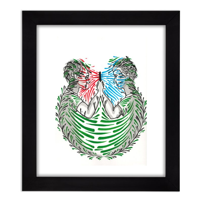 Alone Together Home Framed Fine Art Print by Dustin Klein's Artist Shop