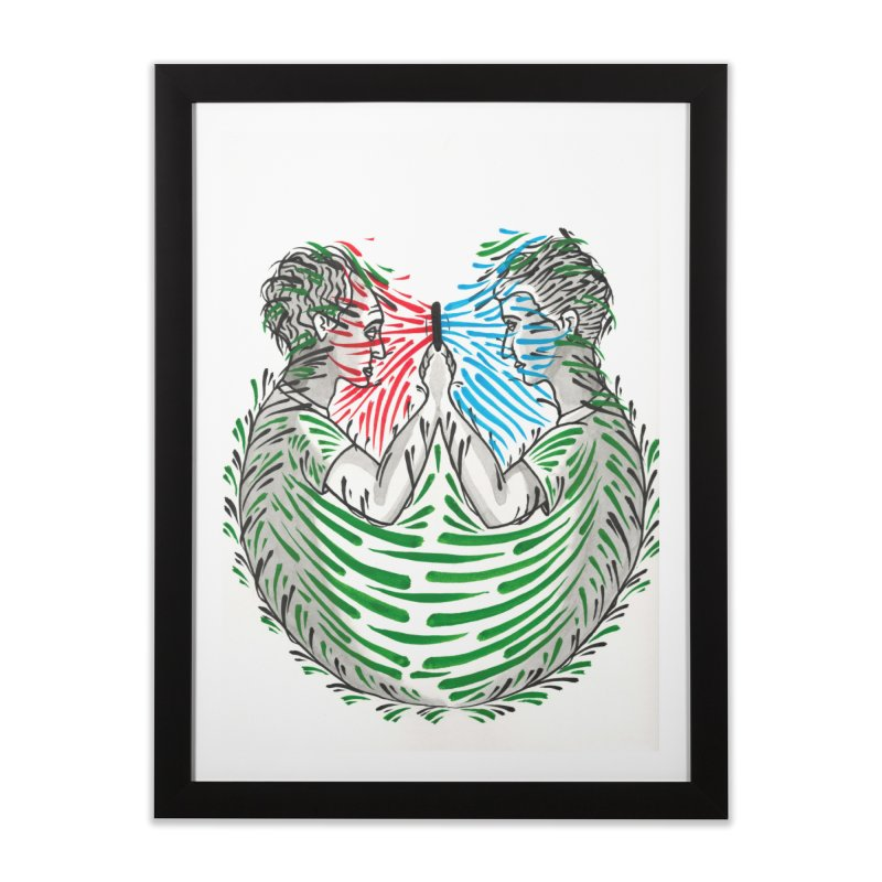 Alone Together Home Framed Fine Art Print by Dustin Klein's Artist Shop