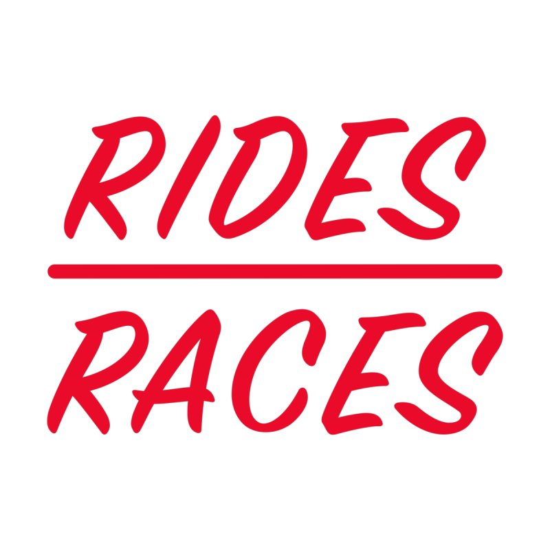 Rides over Races Red Women's Tank by Dustin Klein's Artist Shop