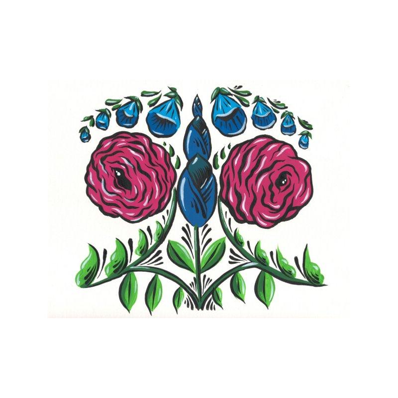 Drawing Flowers Accessories Sticker by Dustin Klein's Artist Shop