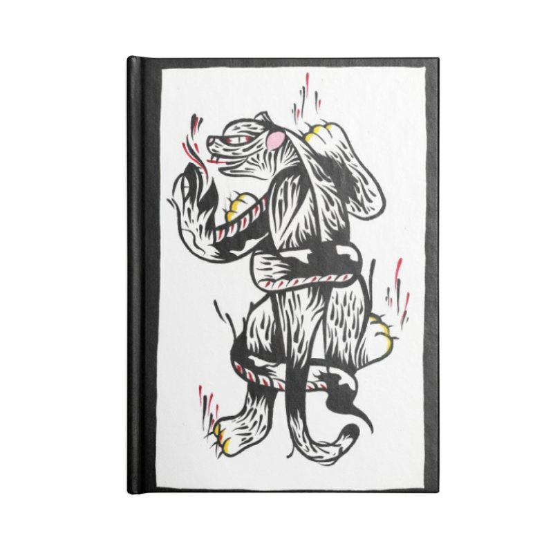 Panthers from Stream of Consciousness Accessories Notebook by Dustin Klein's Artist Shop