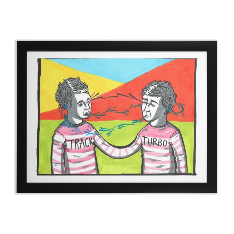 two as one Home Framed Fine Art Print by Dustin Klein's Artist Shop