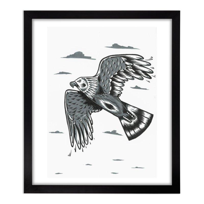 Birds of Pray Home Framed Fine Art Print by Dustin Klein's Artist Shop
