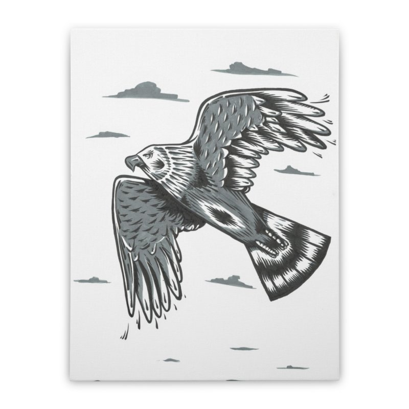 Birds of Pray Home Stretched Canvas by Dustin Klein's Artist Shop