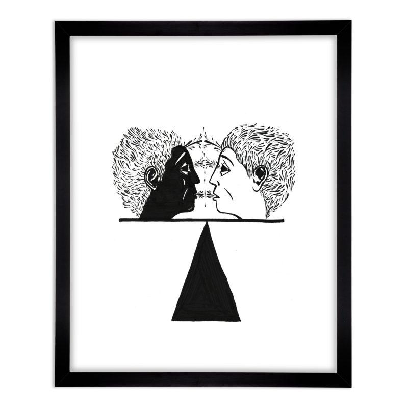 Balance of Opposites Home Framed Fine Art Print by Dustin Klein's Artist Shop