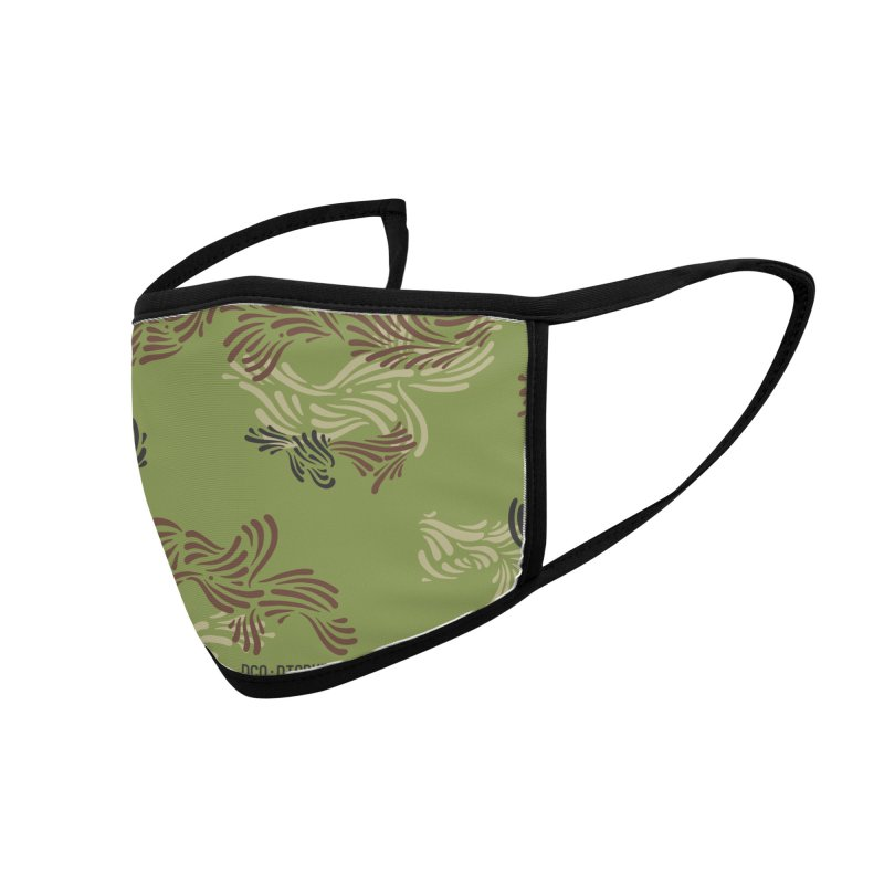 DCO Forest Accessories Face Mask by Dustin Klein's Artist Shop