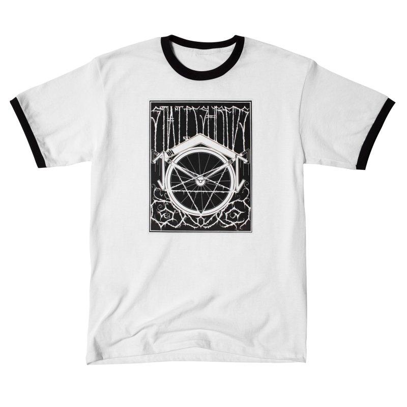 Static Shreds Men's T-Shirt by Dustin Klein's Artist Shop