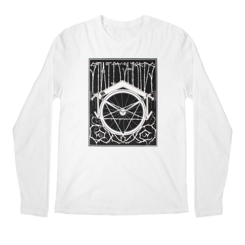 Static Shreds Men's Longsleeve T-Shirt by Dustin Klein's Artist Shop