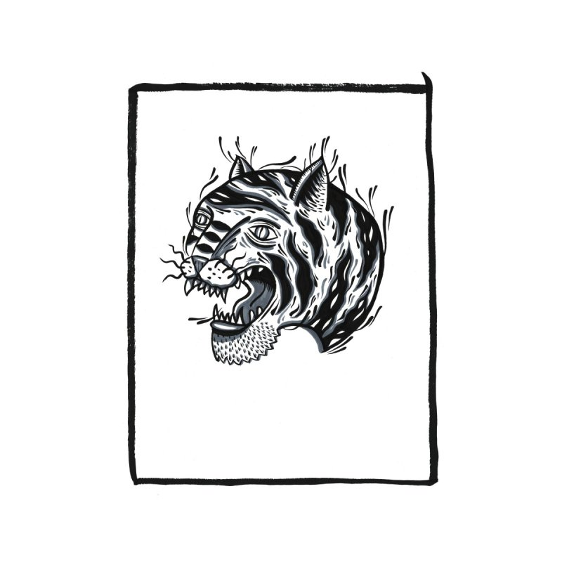 Tiger Style Home Framed Fine Art Print by Dustin Klein's Artist Shop