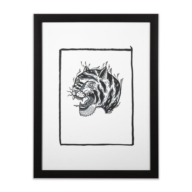 Tiger Style Home Framed Fine Art Print by Dustin Klein's Artist Shop