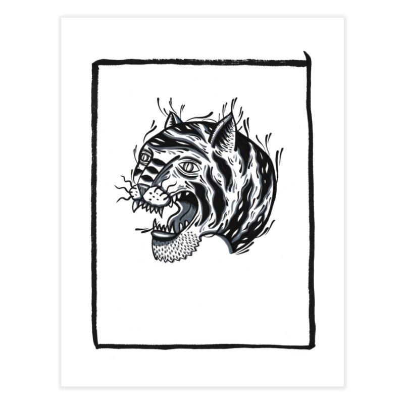 Tiger Style Home Fine Art Print by Dustin Klein's Artist Shop