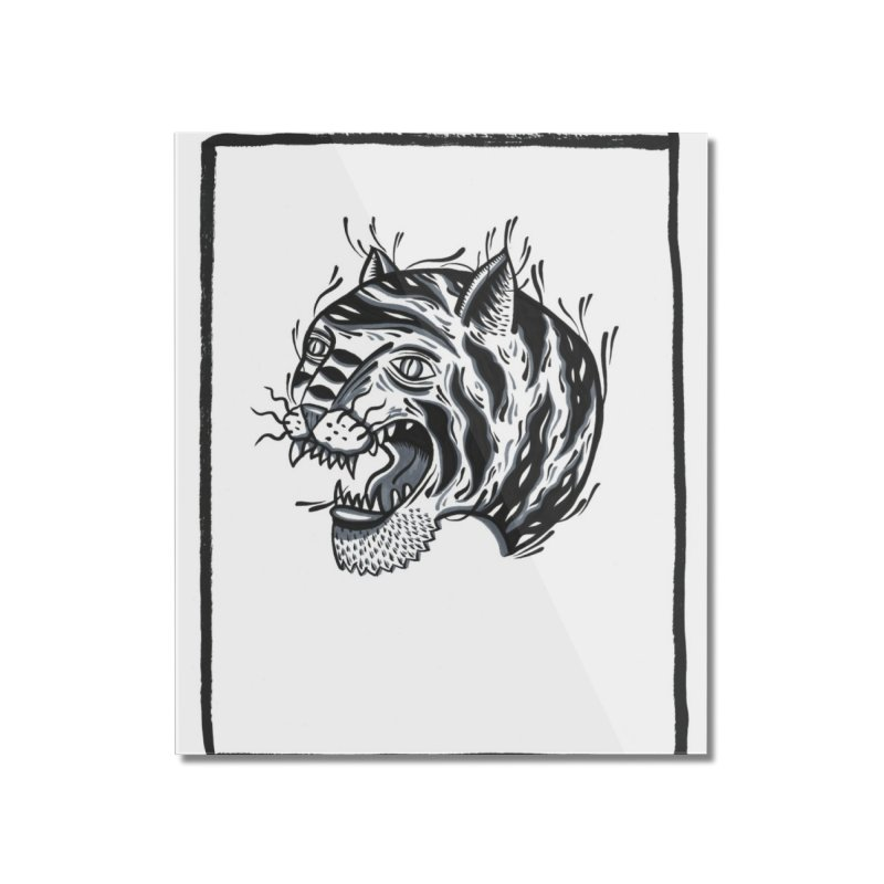 Tiger Style Home Mounted Acrylic Print by Dustin Klein's Artist Shop