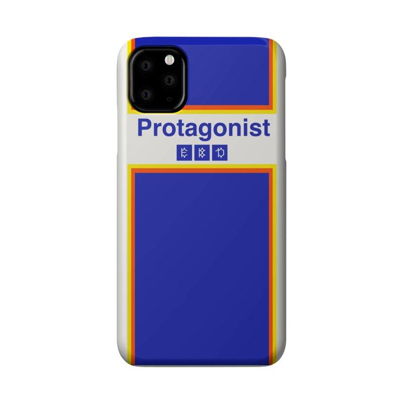 Team Protagonist Accessories Phone Case by Dustin Klein's Artist Shop