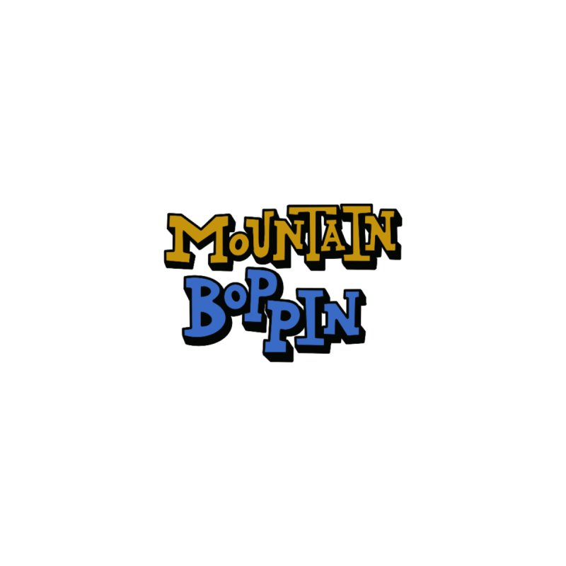 Mountain Boppin Kids Pullover Hoody by Dustin Klein's Artist Shop