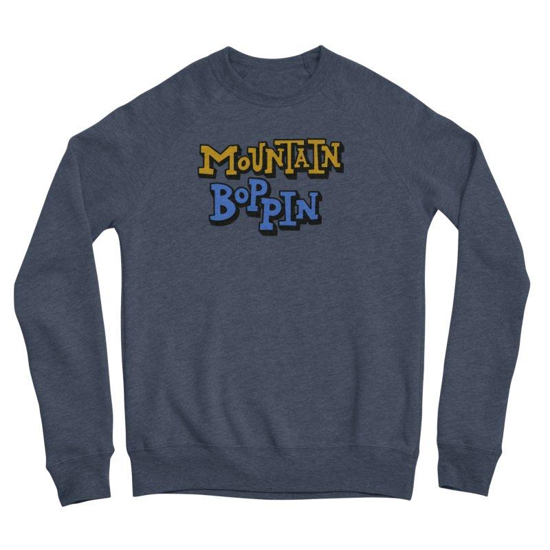 Mountain Boppin Men's Sweatshirt by Dustin Klein's Artist Shop