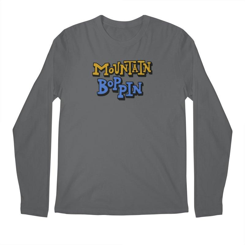 Mountain Boppin Men's Longsleeve T-Shirt by Dustin Klein's Artist Shop