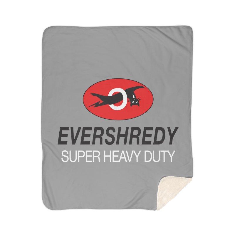 Ever Shreddy Home Blanket by Dustin Klein's Artist Shop