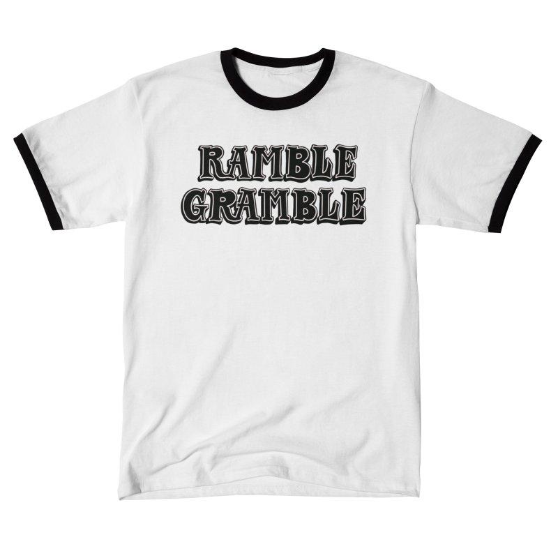 Ramble Gramble Men's T-Shirt by Dustin Klein's Artist Shop