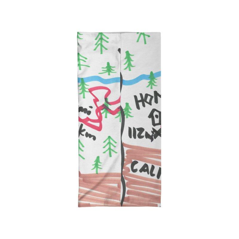 BIG MILES MAP Accessories Neck Gaiter by Dustin Klein's Artist Shop