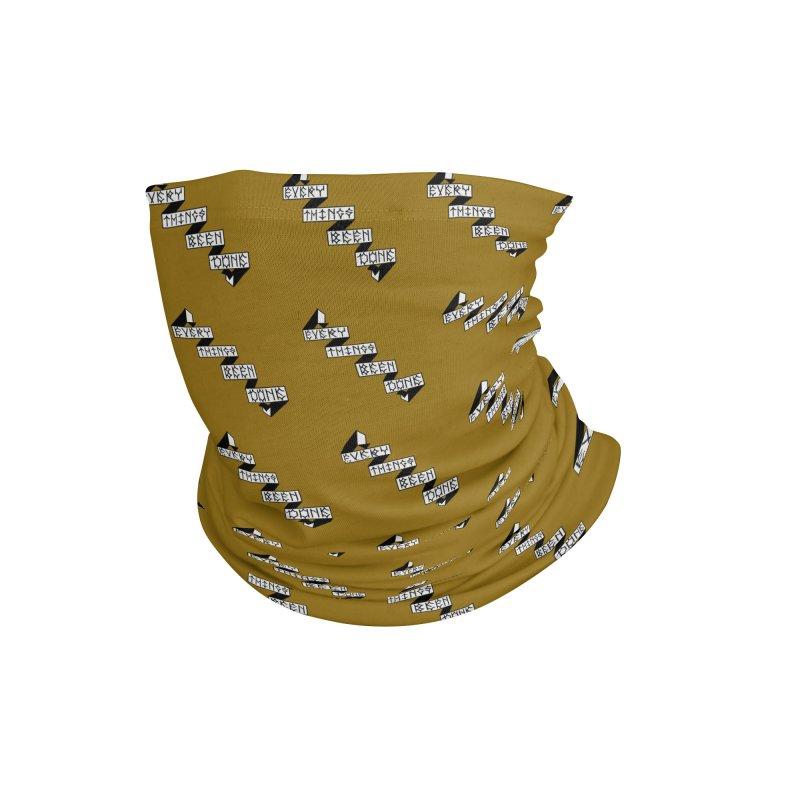 EBD repeat Must-Hard Accessories Neck Gaiter by Dustin Klein's Artist Shop