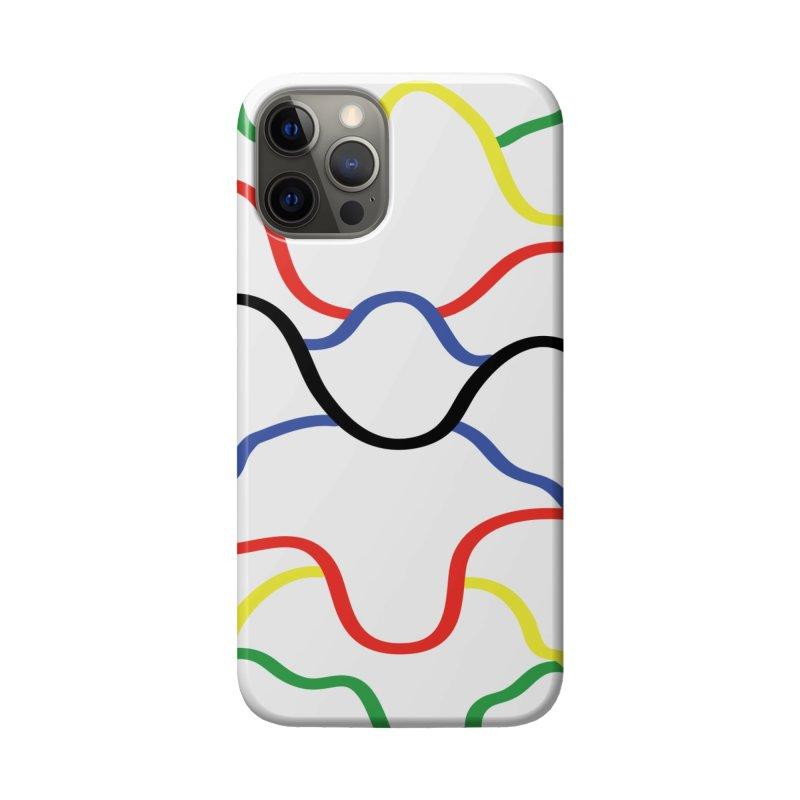 Pulsar Rainbow Accessories Phone Case by Dustin Klein's Artist Shop