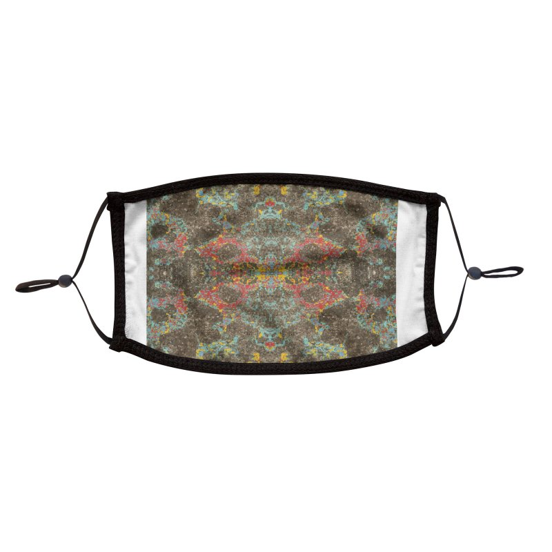 Ground Cover Accessories Face Mask by Dustin Klein's Artist Shop