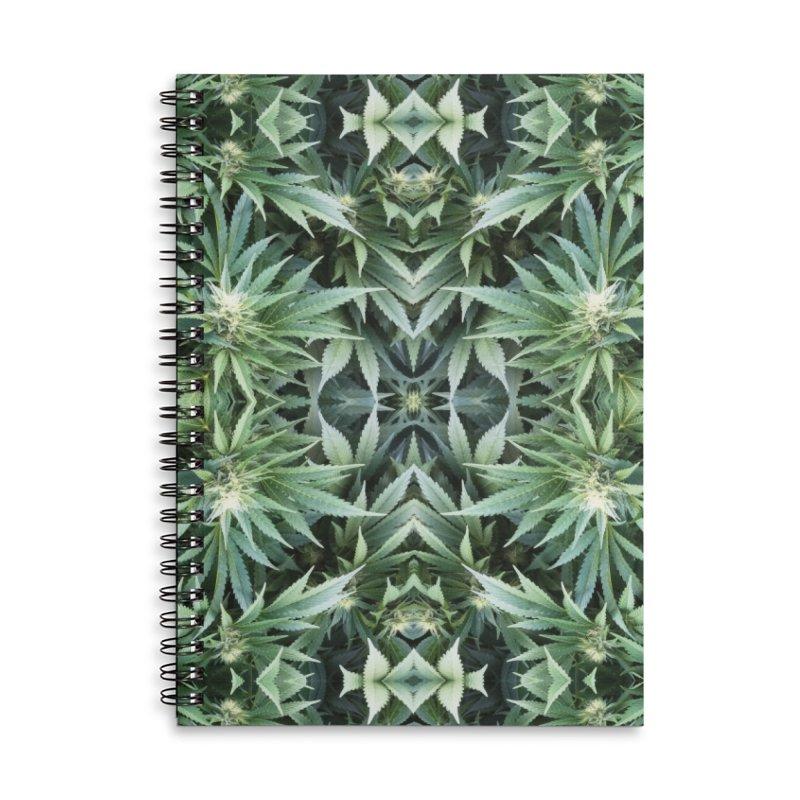 Real Flower Accessories Notebook by Dustin Klein's Artist Shop