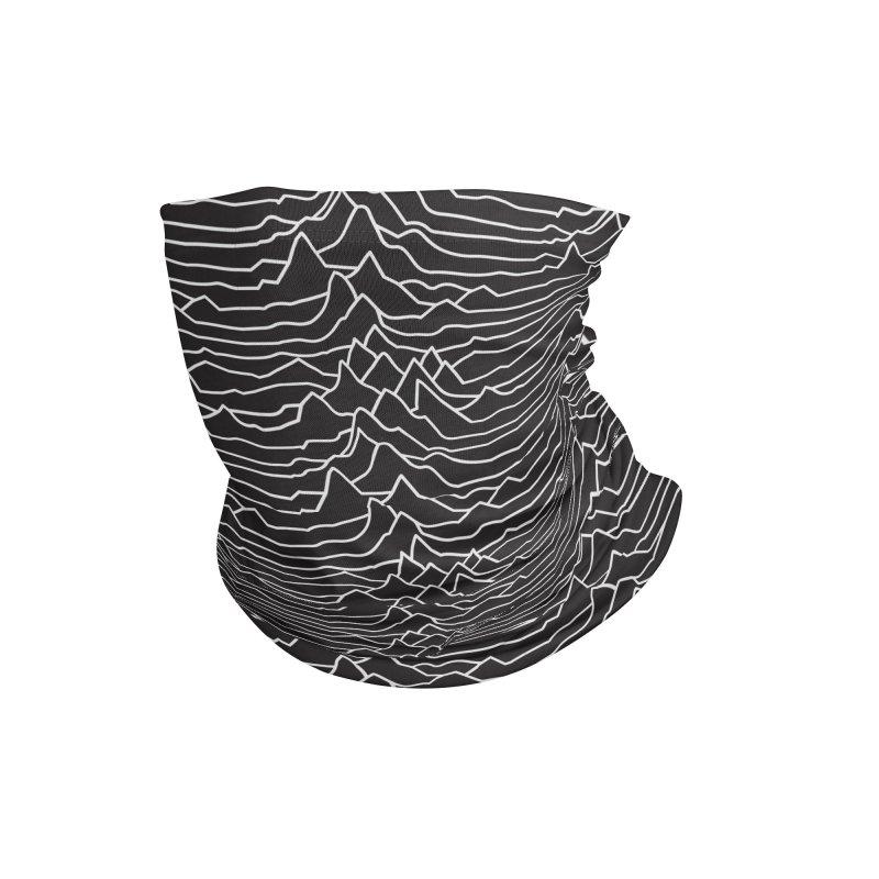 Pulsar B&W Accessories Neck Gaiter by Dustin Klein's Artist Shop