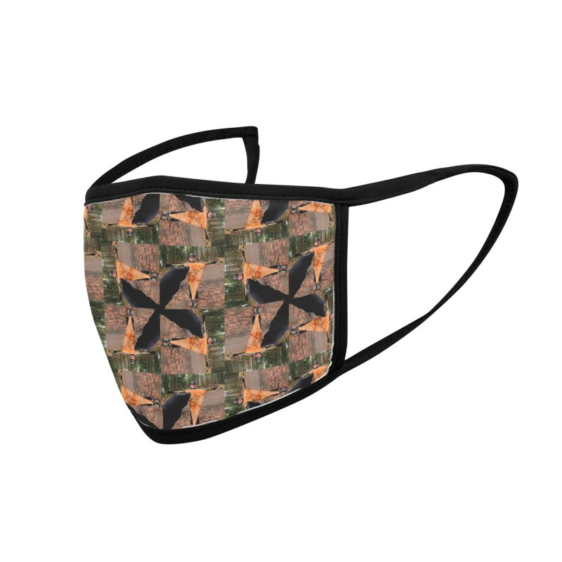 Pizza Star Ron Accessories Face Mask by Dustin Klein's Artist Shop