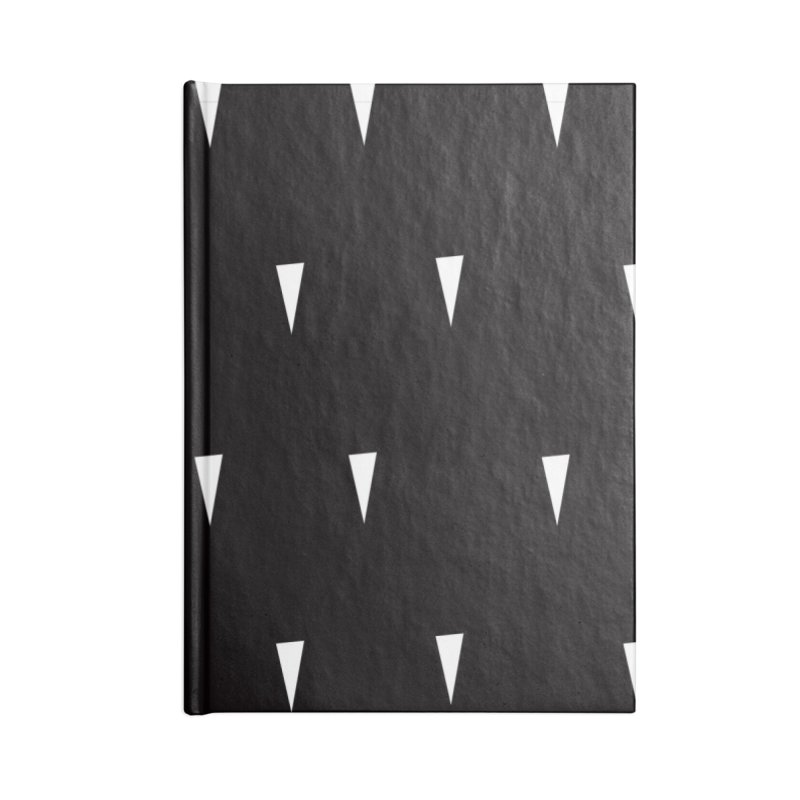 Airflow textile Accessories Lined Journal Notebook by Dustin Klein's Artist Shop