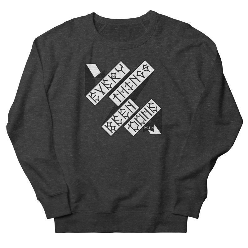 EBD FLEECE Women's Sweatshirt by DustinKlein's Artist Shop