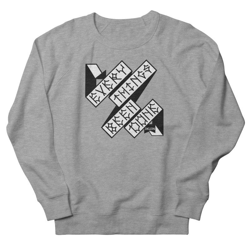 EBD FLEECE Women's French Terry Sweatshirt by Dustin Klein's Artist Shop