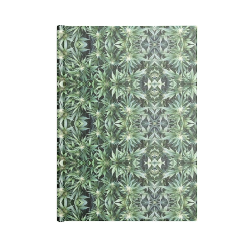 Camobis Accessories Lined Journal Notebook by Dustin Klein's Artist Shop