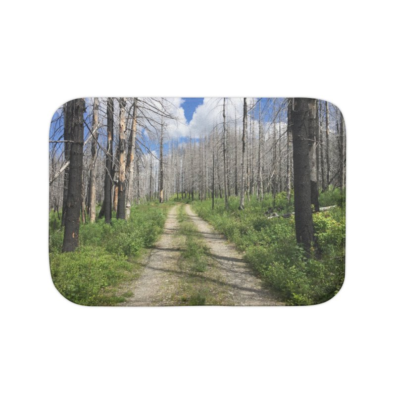 Journey is the Destination Home Bath Mat by Dustin Klein's Artist Shop