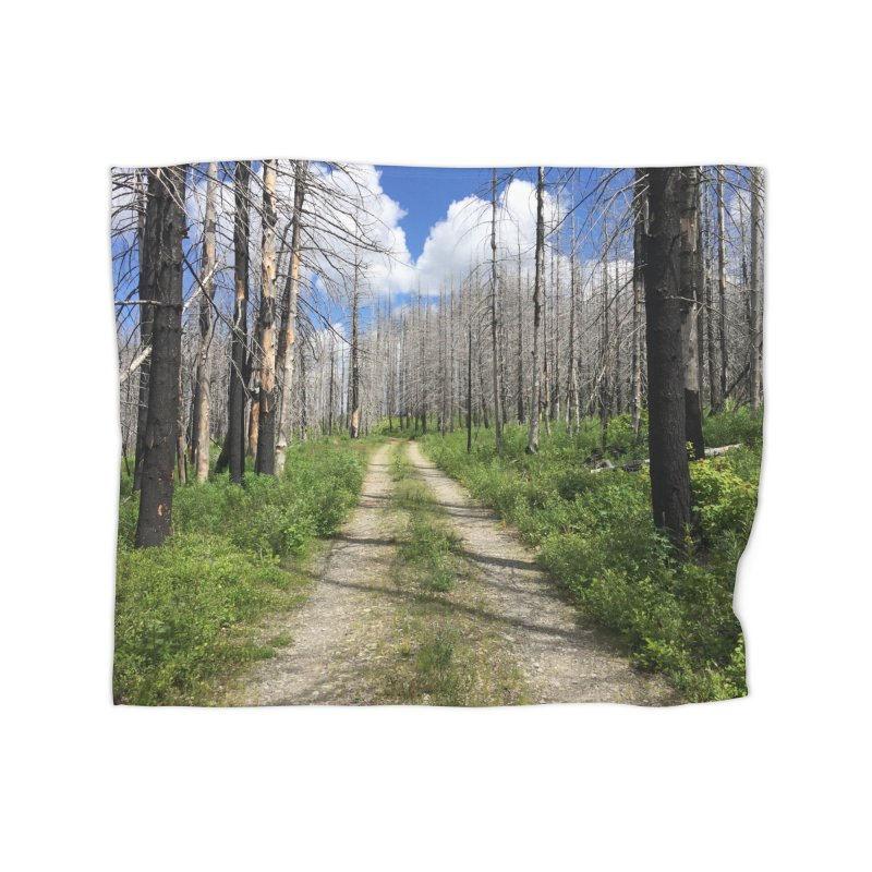 Journey is the Destination Home Blanket by DustinKlein's Artist Shop