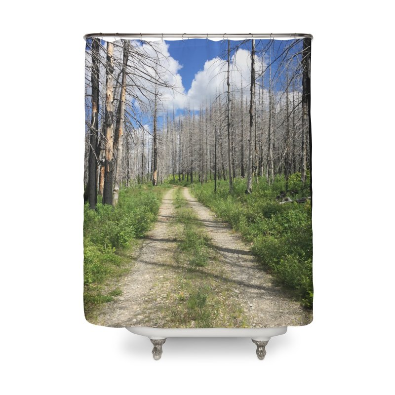 Journey is the Destination Home Shower Curtain by Dustin Klein's Artist Shop