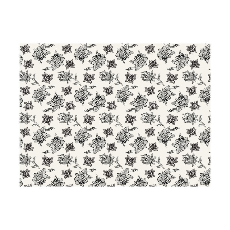Floral drawing Home Duvet by Dustin Klein's Artist Shop