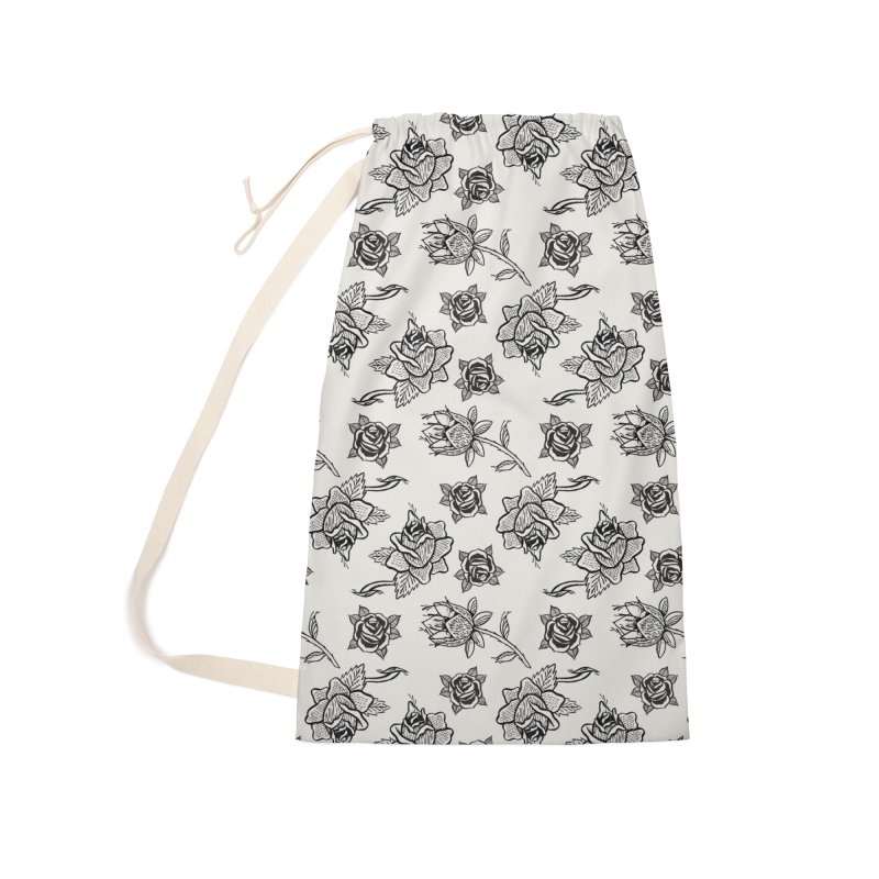 Floral drawing Accessories Laundry Bag Bag by Dustin Klein's Artist Shop