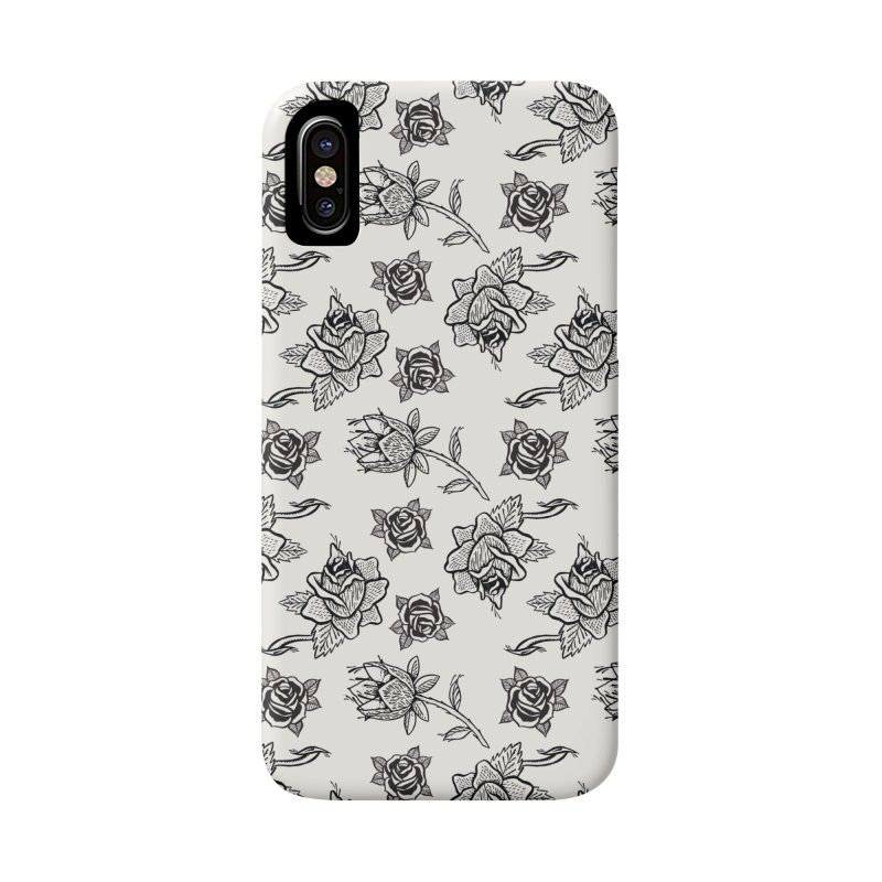 Floral drawing Accessories Phone Case by DustinKlein's Artist Shop