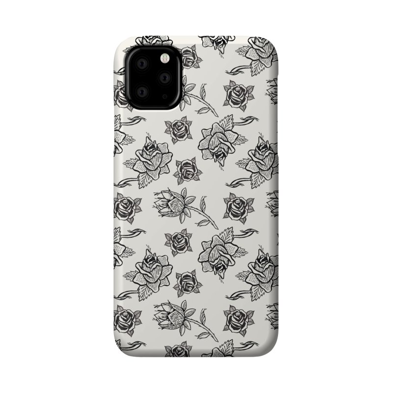 Floral drawing Accessories Phone Case by Dustin Klein's Artist Shop