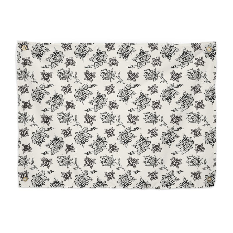 Floral drawing Home Tapestry by Dustin Klein's Artist Shop
