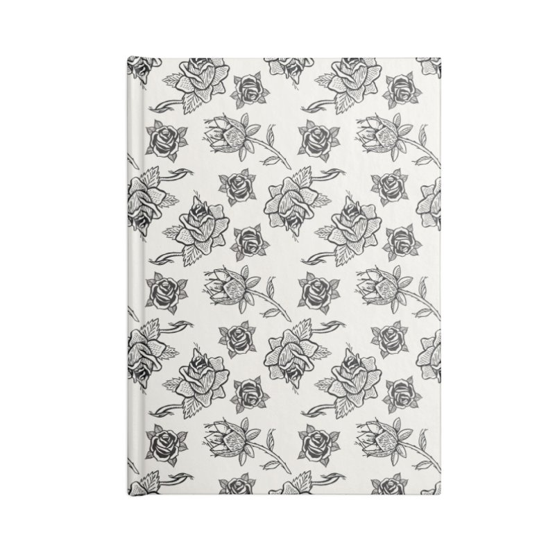 Floral drawing Accessories Blank Journal Notebook by Dustin Klein's Artist Shop