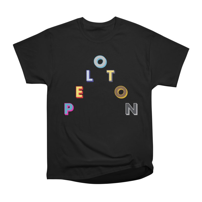 Peloton Men's T-Shirt by Dustin Klein's Artist Shop