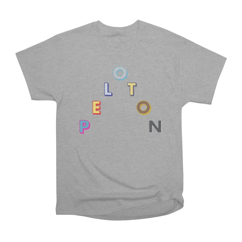 Peloton Men's T-Shirt by Dustin Klein's Artist Shop