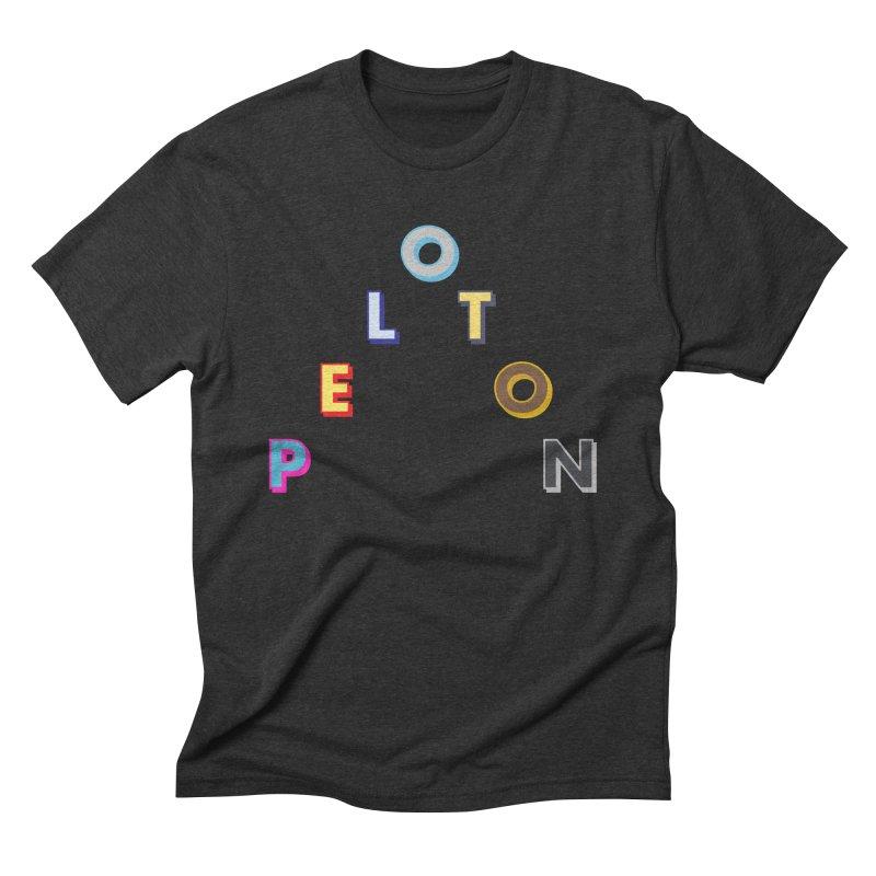 Peloton Men's Triblend T-Shirt by DustinKlein's Artist Shop