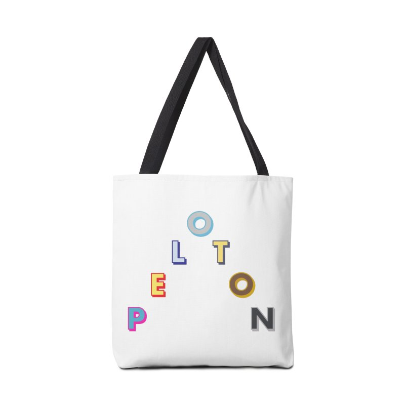 Peloton Accessories Tote Bag Bag by Dustin Klein's Artist Shop