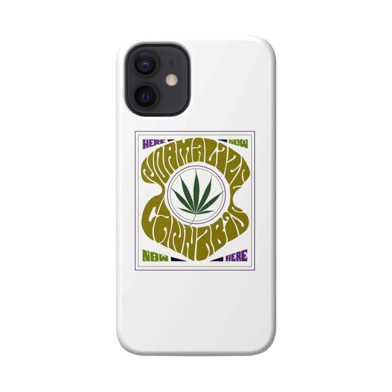 Normalize Cannabis Accessories Phone Case by Dustin Klein's Artist Shop