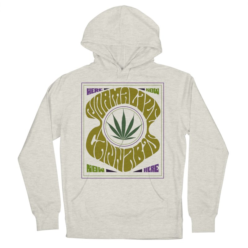 Normalize Cannabis Men's Pullover Hoody by Dustin Klein's Artist Shop