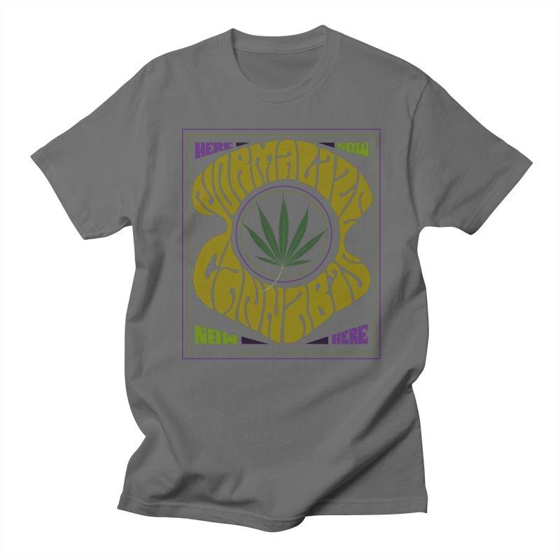 Normalize Cannabis Men's T-Shirt by Dustin Klein's Artist Shop