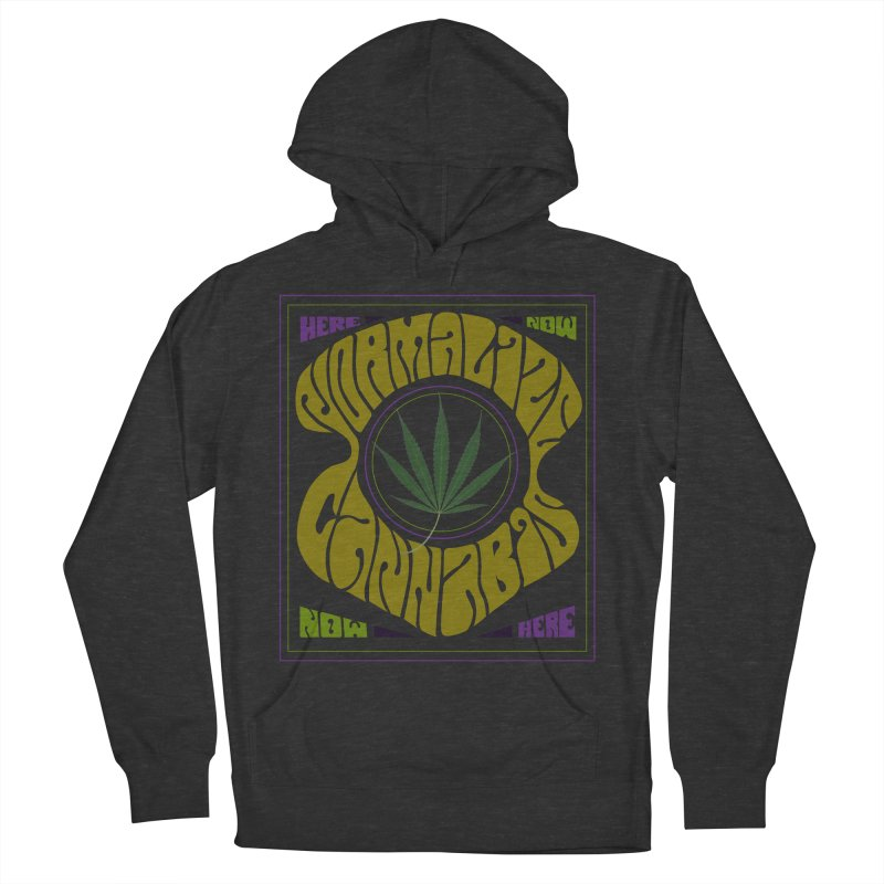Normalize Cannabis Men's French Terry Pullover Hoody by DustinKlein's Artist Shop
